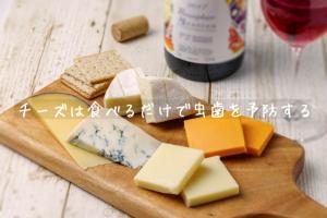 チーズは食べるだけで虫歯を予防する